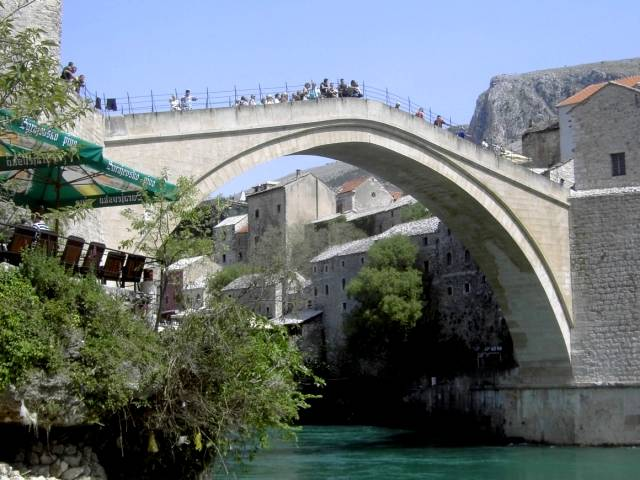 Neretva-Brücke Stari Most in Mostar