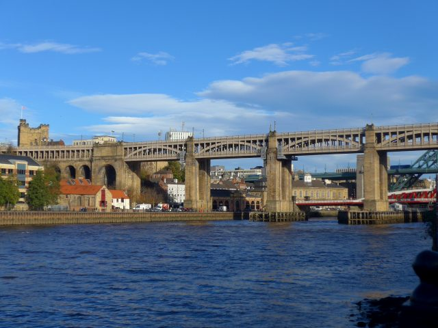 Newcastle: die High Level Bridge und die normannische Burg