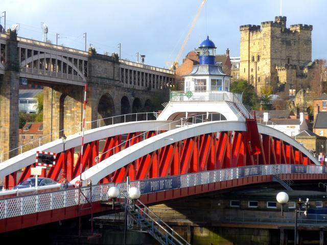Newcastle: Swing Bridge, High Level Bridge und normannische Burg